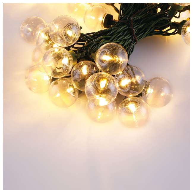 L9300026MU45 Home Heritage Christmas 300 LED Bulb String Light, Clear & Colored (2 Pack) 3