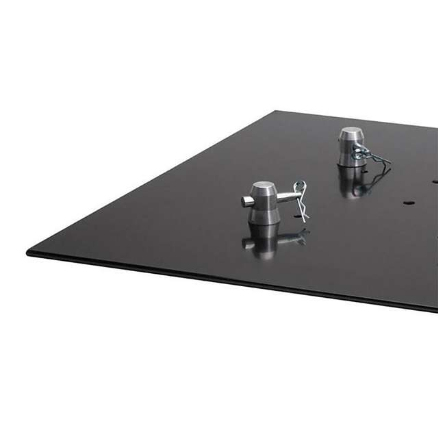 BASEPLATE2.2S-U-A Global Truss Square Steel Lighting Trussing Base Plate (Open Box) 4