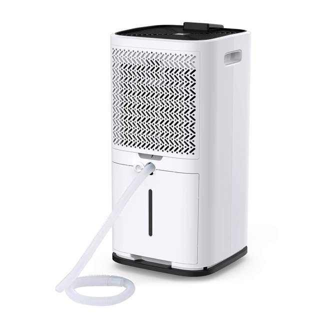 PD123A Colzer PD123A 30 Pint 1500 Sq Ft Portable Home Room Basement Air Dehumidifier 2