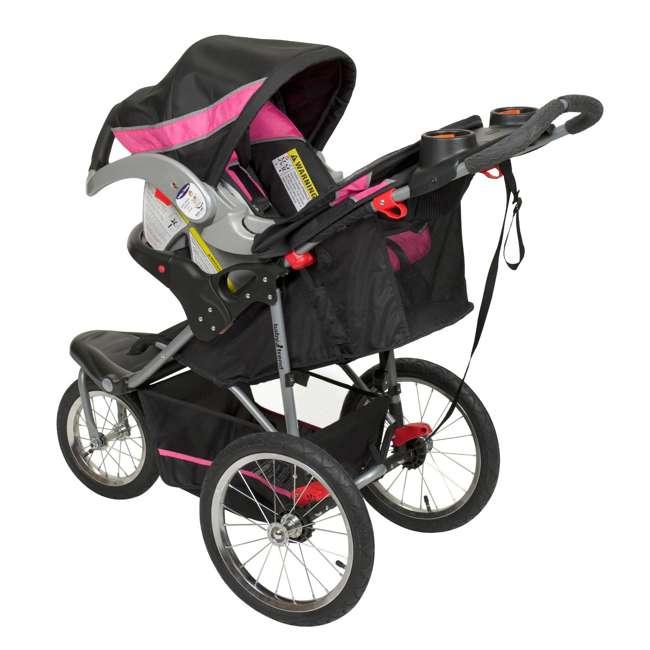 Baby Trend Expedition Jogging Stroller Bubble Gum Jg94044
