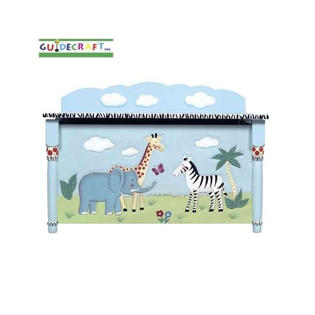 G83208 Guidecraft Safari Toy Box
