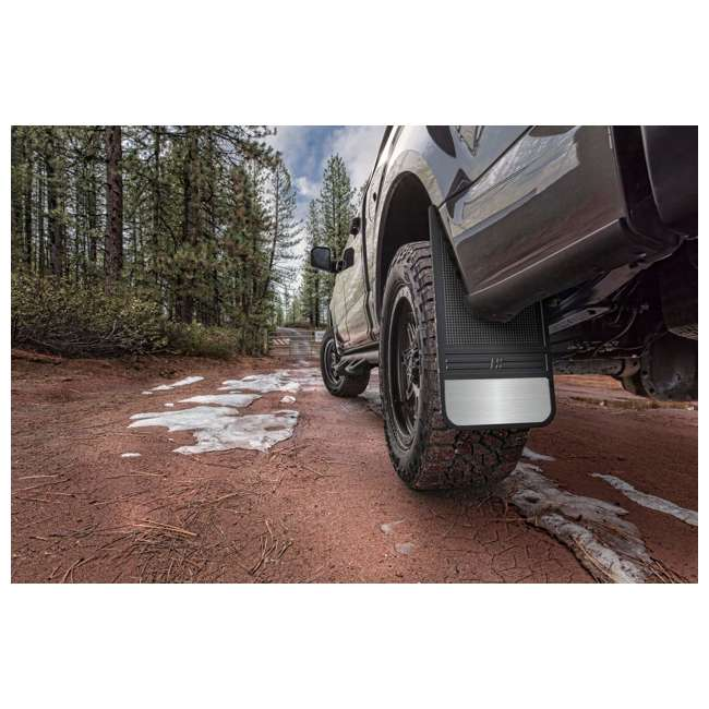 55000-12in-front-mud-flaps Husky Liners Rubber Front Mud Flaps - 12 in 55000 (Open Box) 1
