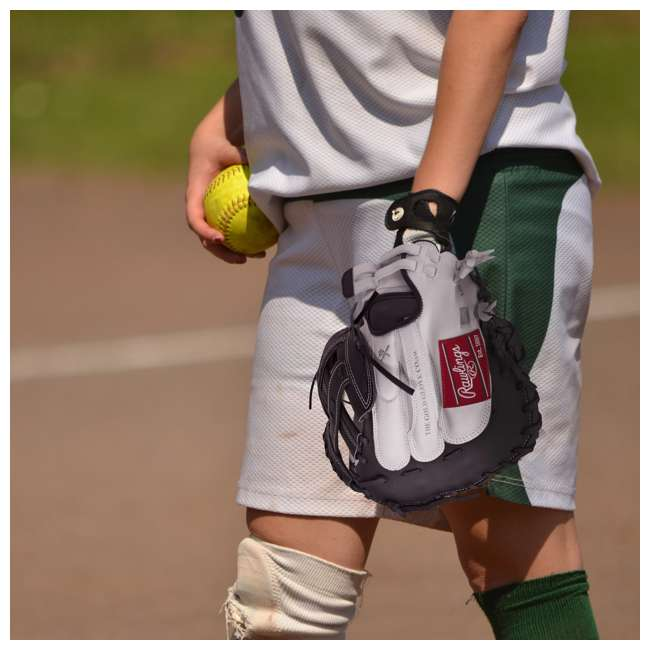 RLACM33-3/0 Rawlings Liberty Advanced 33-Inch Catcher Mitt Adult Softball Glove 4
