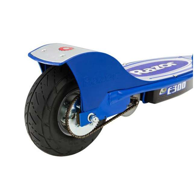 13113697 + 13113640 Razor E300 Electric Motorized Scooters, 1 Red & 1 Blue 6