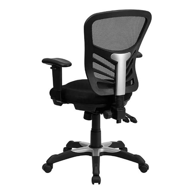 HL-0001-GG-U-A Flash Furniture Mesh Seat Executive Office Swivel Chair, Black (Open Box) 3