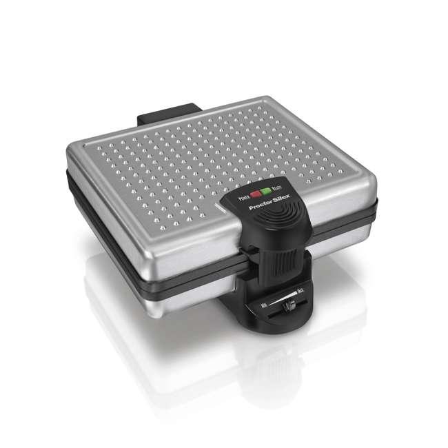 26016A Proctor Silex 4-Piece Belgian Waffle Maker | 26016A 2