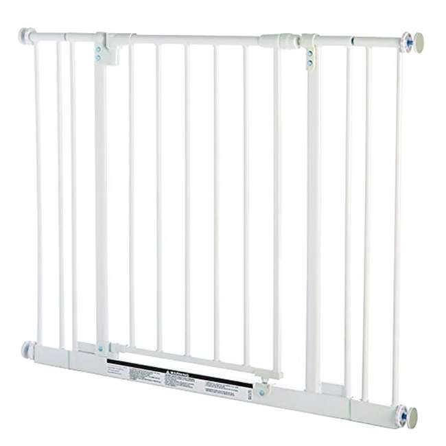 4910S North States Easy Close 28 to 38.5in Metal Baby Pet Gate(Open Box) (2 Pack)