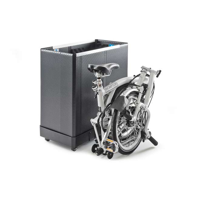 96008 B&W International 96008 Foldon Box S Brompton Bike & Folding Bicycle Travel Case 3