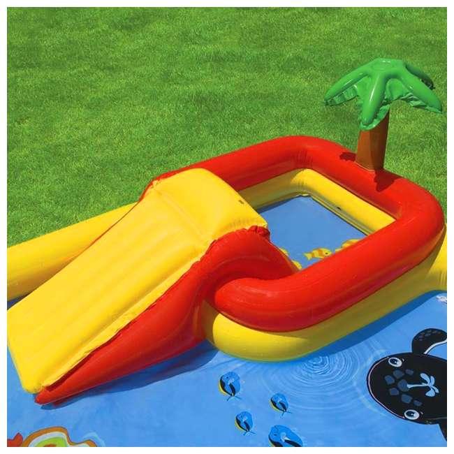 57454EP + 57453EP Intex Inflatable Ocean Kiddie Pool (2 Pack) & Intex Rainbow Ring Pool (2 Pack) 7