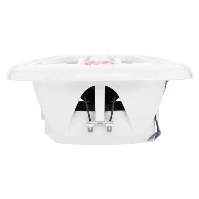 MRGB65 Boss Audio Marine 200W MRGB65 6.5 Inch Boat Light White Speakers Pair (Pair) 4