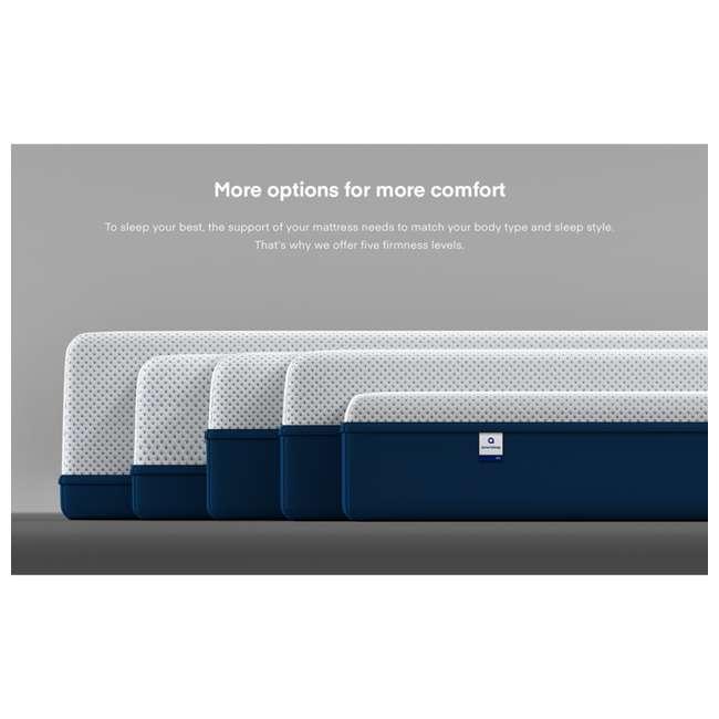 AS3-F Amerisleep AS3 Medium Softness Bio Core Plush Foam Full Size Mattress, White 7