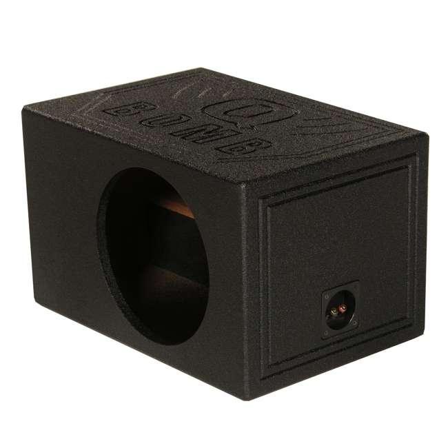 QBOMB10VL-SINGLE Q-Power QBOMB10VL Single 10-Inch Vented Subwoofer Box  (2 Pack) 1