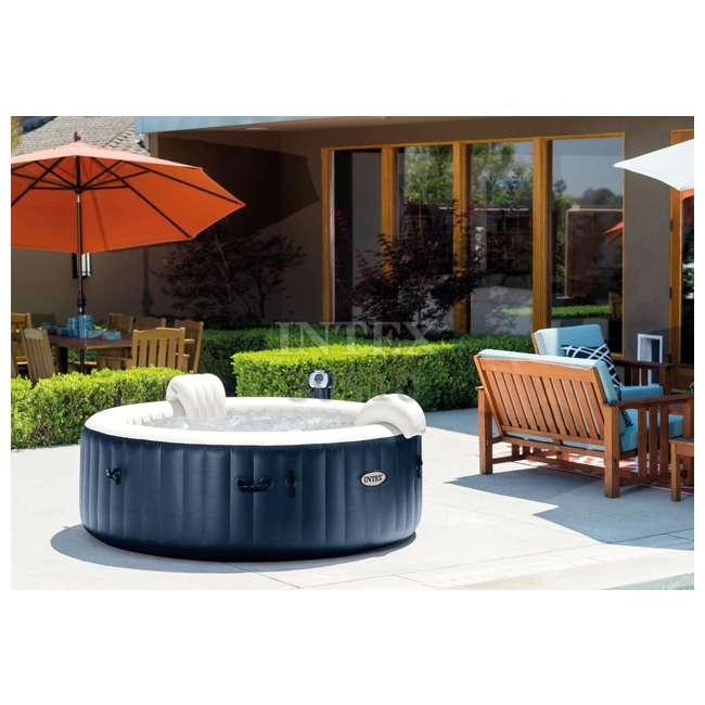 28505E + 28409E + 28500E Intex 28409E Pure Spa 6-Person Hot Tub, Headrest And Cup Holder 9