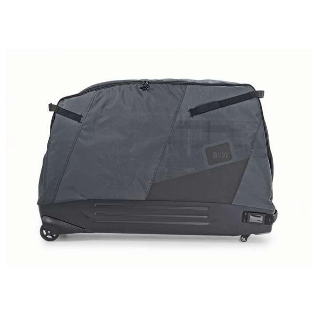 96900 B&W International Padded Lightweight Zippered Bike Bag and Case II, Black 1