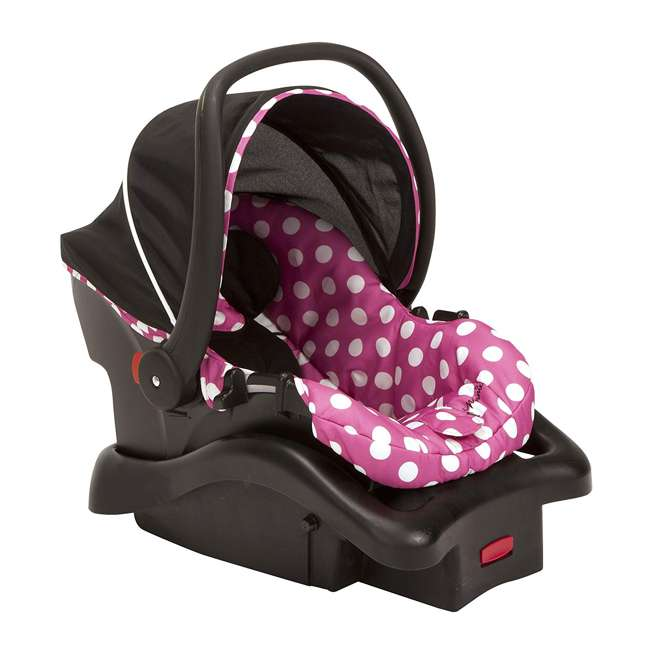 IC233BZE Disney IC233BZE Light and Comfy 22 Luxe Minnie Mouse Infant Seat, Pink