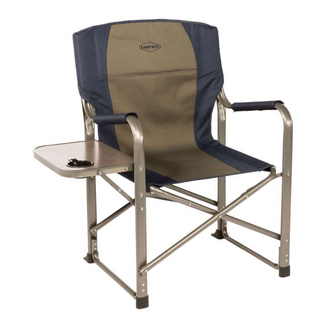 4 x CC105 Kamp-Rite Folding Director's Chair with Side Table (4 Pack) 1