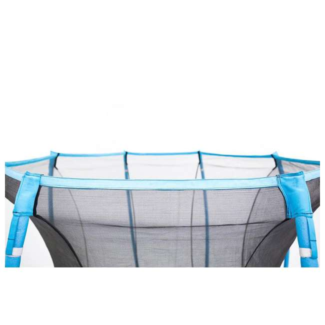 SB-T08ATM02 Skybound Atmos SB-T08ATM02 8 Foot Octagonal Blue Trampoline With Safety Net 5