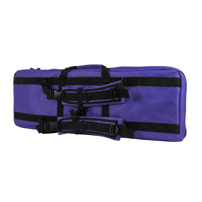 "CVDC2946PR-36 NcSTAR VISM 36"" Double Rifle Carbine Padded Soft Gun Case Carry Bag, Purple 1"