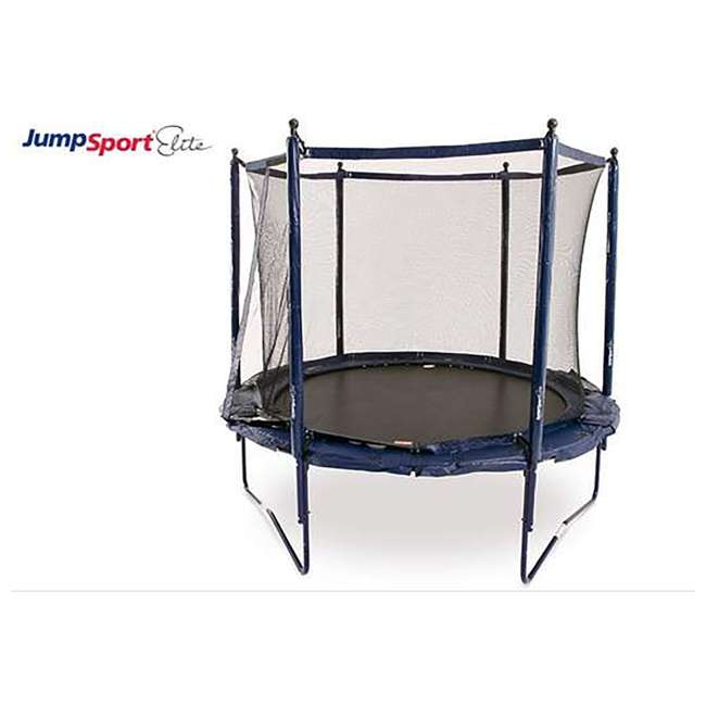 UNE-U-11726-01 JumpSport Elite 10 Foot StagedBounce Technology Trampoline System with Enclosure 1