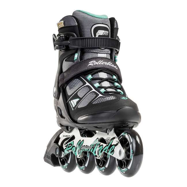 07625800824-7 Rollerblade USA Macroblade 80 Women's Adult Fitness Inline Skates Size 7, Green 1