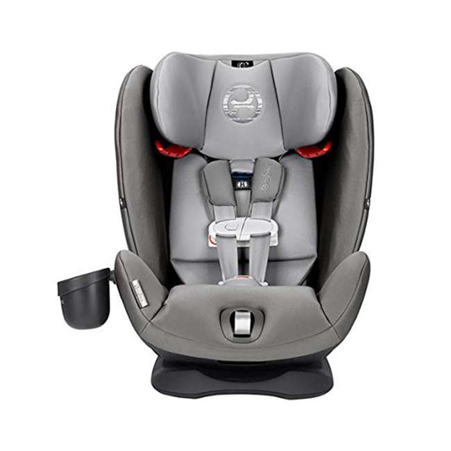 518002873 Cybex Gold Eternis S All in 1 Convertible Infant Baby Car Seat, Lavastone Black 1
