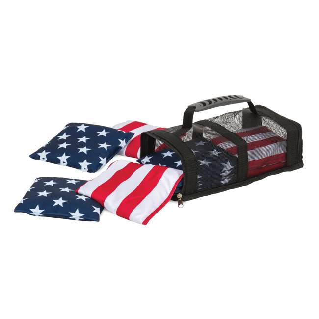 1-1-16694-DS EastPoint Sports Stars & Stripes Bean Bags