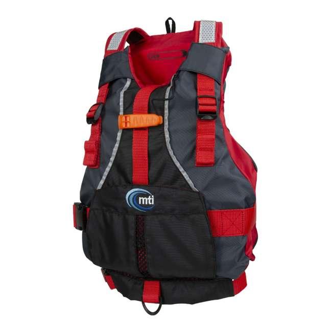 MTI-250D-0KA00 MTI Life Jackets Bob Youth Life Vest, Red 1