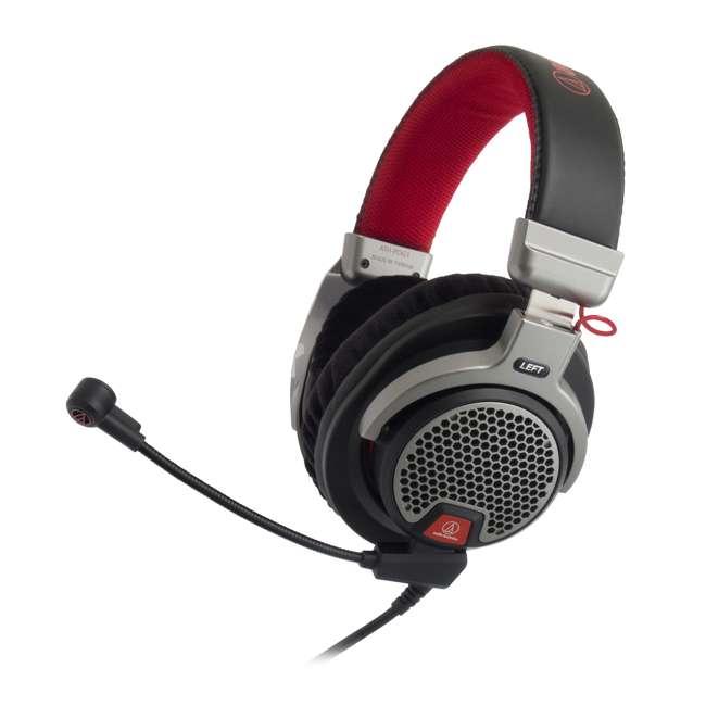 ATH-PDG1-U-B Audio-Technica Open Air Over Ear Gaming Headset Headphones w/ Boom Mic (Used) 1