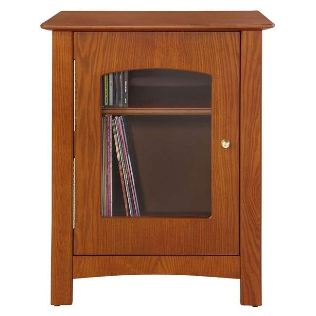 ST75-PA Crosley Bardstown Record Player Vinyl Storage Center, Paprika 2