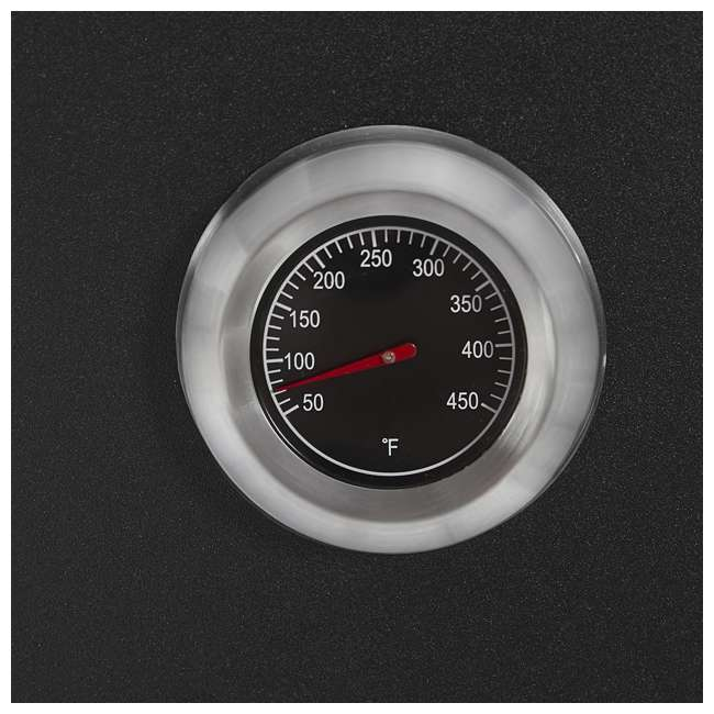 26142E Smoke Hollow 26142E 26 Inch Electric Smoker with Adjustable Temperature, Black 4