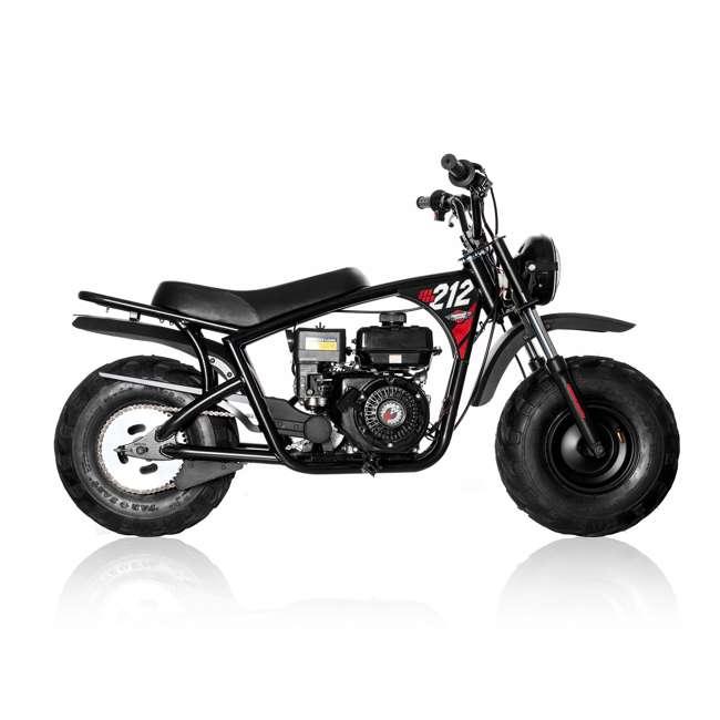 MM-B212-BR Monster Moto 212cc Gas-Powered Off-Road Mini Dirt Bike  1
