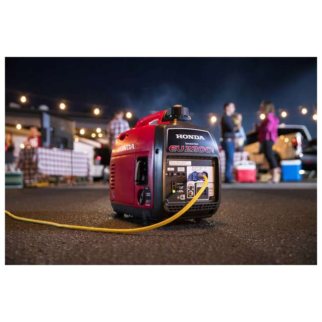 EU2200ITA Honda EU2200ITA 2200 Watt Super Quiet Portable Gas Powered Generator 4