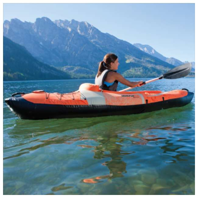2000006972 Sevylor Quikpak K5 1 Person Inflatable Kayak Canoe 3