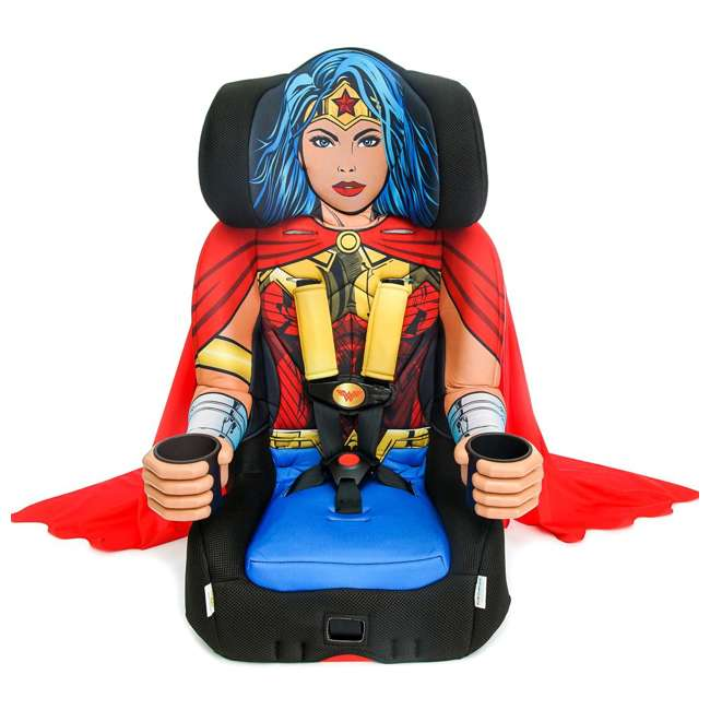 KE-3001WWM KidsEmbrace Combination 2 in 1 Booster Forward Facing Car Seat, DC Wonder Woman