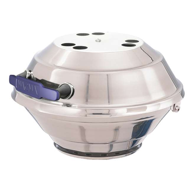 A10-205 Magma A10-205 15 Inch Marine Kettle Gas Grill w/ Adjustable Control Valve, Steel