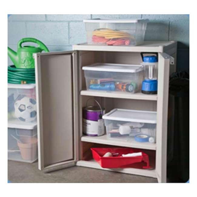 132 x 16448012-U-A Sterilite 16 Quart Storage Sweater Tote Box Container Tub (Open Box) (132 Pack) 1