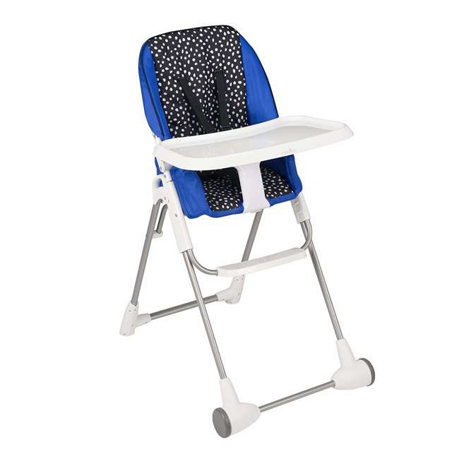 EVEN-25311874 Evenflo Symmetry Foldable Baby Toddler High Chair, Hayden Dot 3