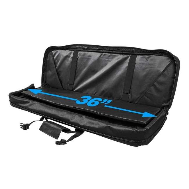 "CVDC2946BL-36 NcSTAR VISM 36"" Double Rifle Carbine Padded Soft Gun Case Carry Bag, Blue/Black 1"