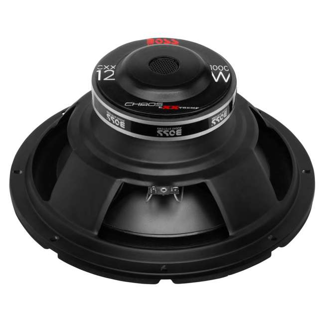 CXX12 Boss CXX12 12-Inch 2000W 4-Ohm Power Subwoofers Subwoofer Woofer Stereo (Pair) 2
