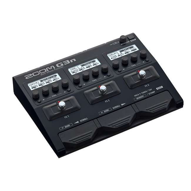 ZG3N-OB Zoom G3N Intuitive Multi-Effects Processor for Guitarists 1
