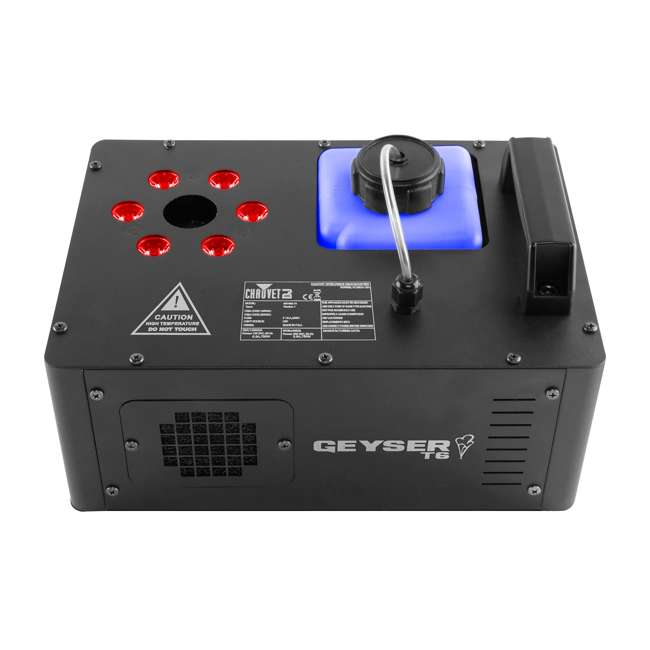 GEYSER-T6-OB Chauvet DJ Geyser T6 Fog Machine and Light Effect + 2) Chauvet Fog Juice Fluid (1 Gallon) 1