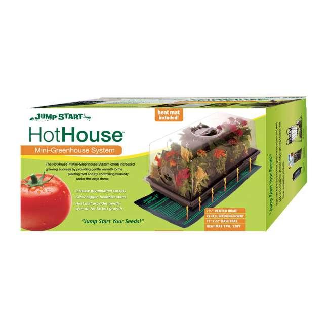 CK64060-U-A HYDROFARM CK64060 Germination Hot House with Heat Mat Hydroponic Grow (Open Box) 3