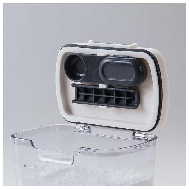 PKS-300 Progressive International Plastic Powdered Sugar ProKeeper Container (2 Pack) 5