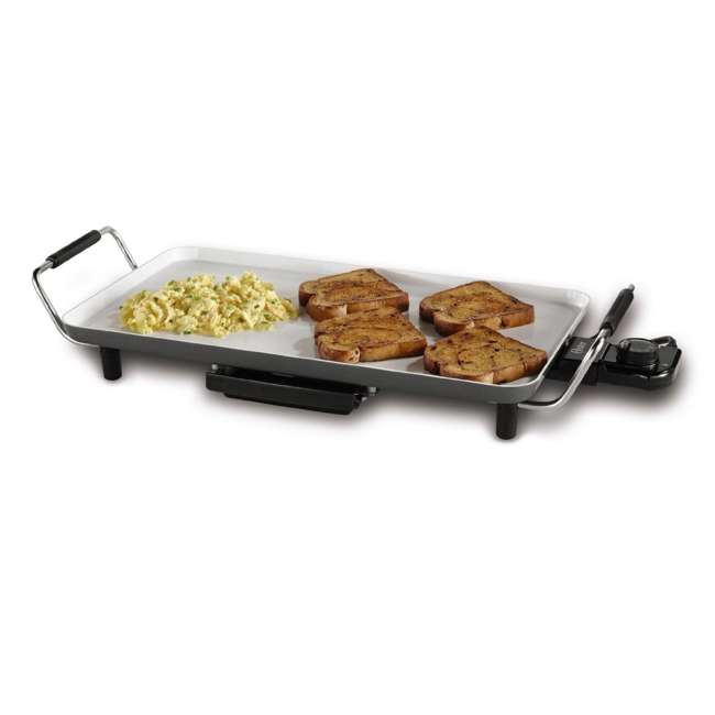 CKSTGR18WC-ECO Oster DuraCeramic Griddle with Drip Tray