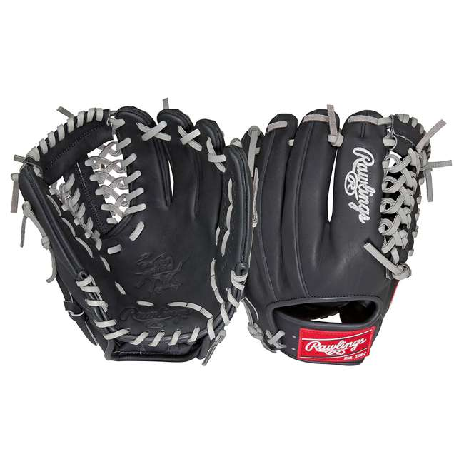 PRO204DC-4BG Rawlings Heart of the Hide 11.5-Inch Infield Adult Baseball Glove 3