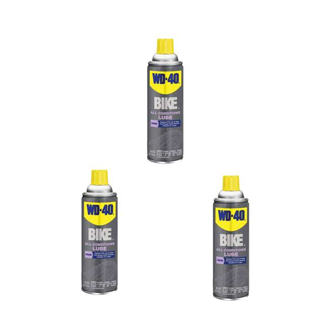 3 x WD-390234 Bike Chain Lube, Bike Wash, Chain Cleaner & Degreaser (3 Pack)