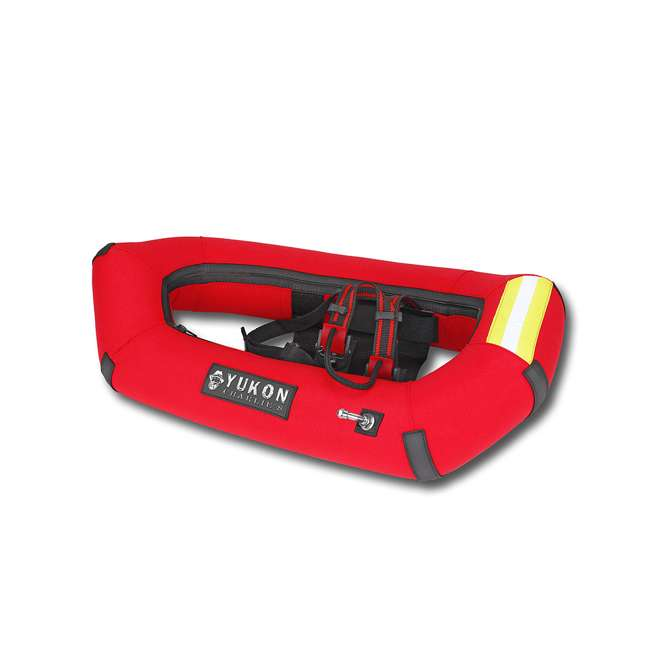 80-8001-U-A Yukon Charlie's Airlift Emergency Inflatable Snow Shoes w/ Crampons (Open Box) 4