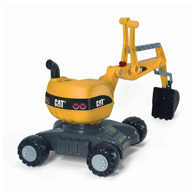 KET-421015-U-A Rolly Toys CAT 360 Degree Excavator Shovel Digger Kids Ride On Toy (Open Box)