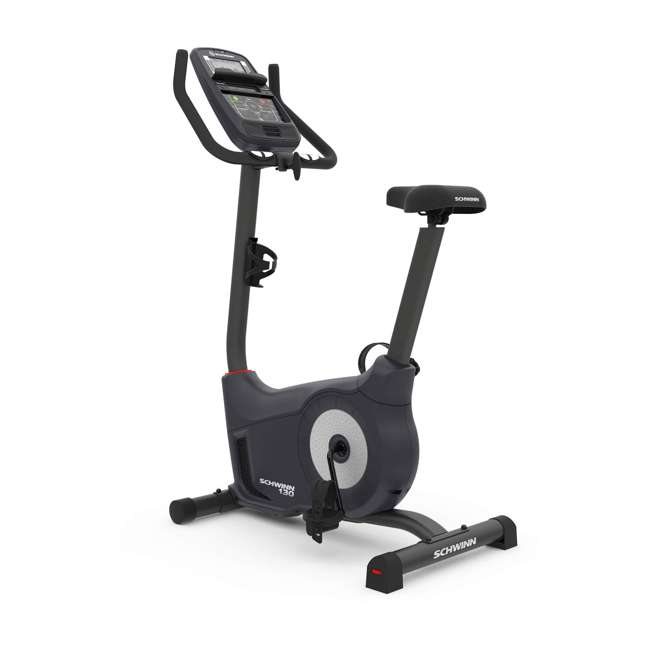 SCHWINN-100512-U-B Schwinn Fitness 130 Stationary Cardio Home Workout Trainer Exercise Bike (Used) 1
