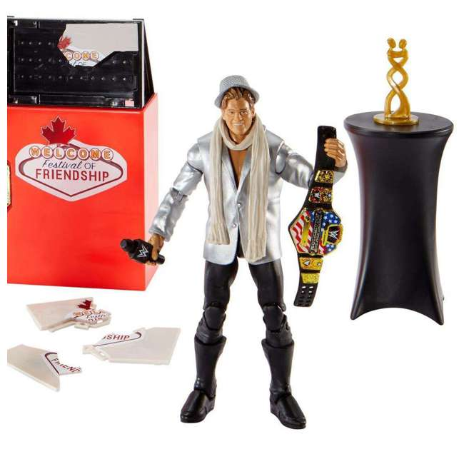 FRX45 WWE Epic Moments Festival of Friendship 2 Figure Play Set 4